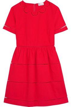 REDValentino - Embroidered Cotton Mini Dress - IT48
