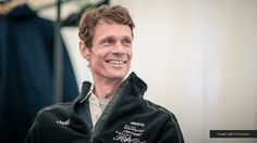 William Fox-Pitt at Bramham International Horse Trials in June during an interview after winning one of the events