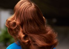 cute warm red & curls