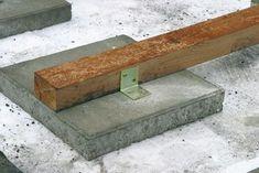 Vlonderplanken balken op tegels