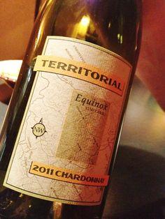 Territorial Vineyards Equinox Chardonnay 2011