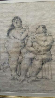 Fernando Botero, Adan y Eva. Museo Botero de Bogotá