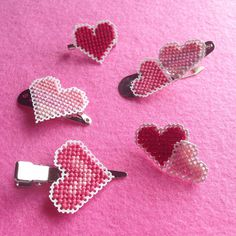 KBB Crafts & Stitches: X-Stitch Paper Heart Accessories