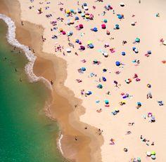 Artist Gray Malin, has us dreaming of long, hot beach days