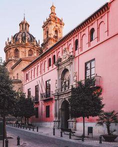 Calle S. Jerónimo,  colegio Mayor S.Bartolome y Santiago