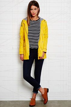 Petit Bateau Raincoat in Yellow at Urban Outfitters