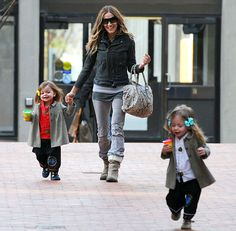 SJP with Marion and Tabitha! They are so adorable!
