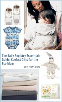 Baby Registry Essentials Guide: The coolest organic and earth-friendly gifts | CoolMomPicks.com with Gugu Guru