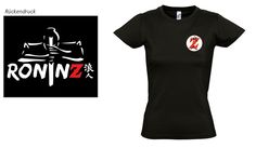 Ladies Basic T-Shirt Imperial black RoninZ Edition