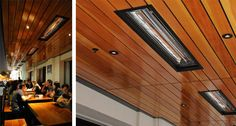 Recessed Mount Outdoor Heaters