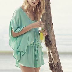 Flowing Cover-Up Romper by Seafolly
