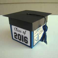 Graduation Card Exploding Box Class of 2016 by BGardenCreations