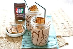 5. S'mores Milkshake | Community Post: 19 S'mores Recipes That Will Change Your Life