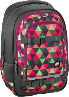 All Out Selby Rucksack Happy Triangle
