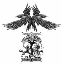 Resultado de imagen para simbolos nordicos tatuajes
