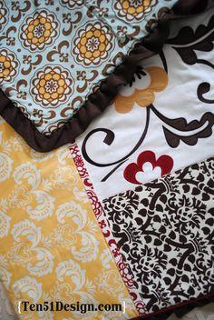 Delilah Cocalo Couture Nursery Crib Bedding Set - Google Search
