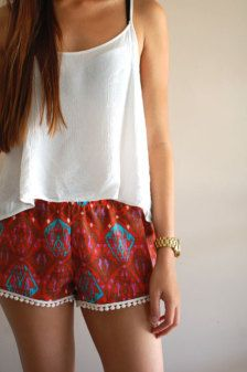Shorts & Capris in Bottoms - Etsy Women
