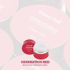 #GenerationRed - #Gel #Ricostruzione #Unghie