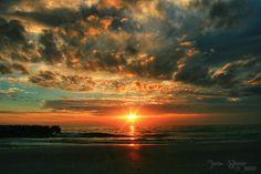 Cochina Beach sunset HDR