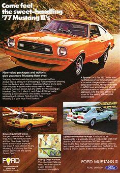 1977 Ford Mustang II 2+2, Ghia, & Cobra II