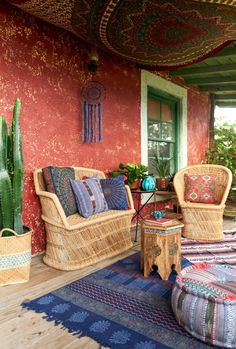 Porch life. #bohoabodes #relax #homedecor #furniture #EBhome #earthboundtrading