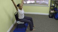 Chair Yoga Tall Mountain