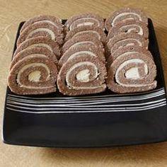 Keksztekercs   Linda receptje - Cookpad receptek Croatian Recipes, Dessert Recipes, Cookies, Food, Crack Crackers, Biscuits, Essen, Meals, Cookie Recipes