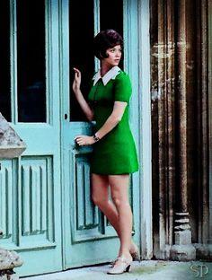 Linda Thorson - Tara King in 60′s show the Avengers