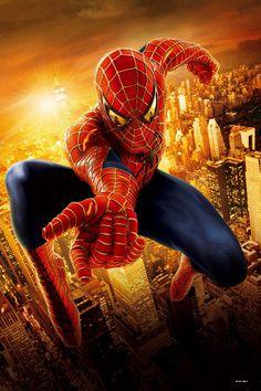 Backdrops of Film Cityscape Backdrop Spiderman Background CM-HG-288-E