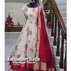 This out fit is Avlb from house of Kadhambari Studio. We can customize the colour and size as per your requirement. Designer Anarkali Dresses, Designer Dresses, Frocks And Gowns, Choli Dress, Dress Indian Style, Indian Wear, Long Gown Dress, Pakistani Wedding Outfits, Indian Gowns Dresses