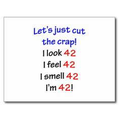 >>>Cheap Price Guarantee          42  Let's cut the crap Postcards           42  Let's cut the crap Postcards in each seller & make purchase online for cheap. Choose the best price and best promotion as you thing Secure Checkout you can trust Buy bestShopping          42  Let's ...Cleck Hot Deals >>> http://www.zazzle.com/42_lets_cut_the_crap_postcards-239006872907002591?rf=238627982471231924&zbar=1&tc=terrest