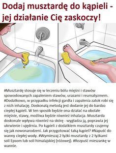 Dodaj musztardę do kąpieli - jej działanie Cię zaskoczy!!! Vegan, Education, Health, Pies, Love, Health Care, Onderwijs, Vegans, Learning