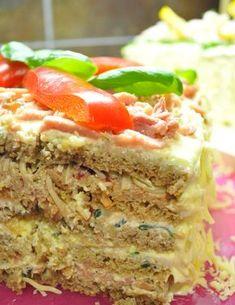 Kaveri pyyteli facebookissa helppoa voileipäkakun ohjetta. Voileipäkakkuhan on helppo tehdä. Kunhan tekee täytteet ja latoo tavarat leipien väliin. Itse tykkään käyttää sekä ruisvuokaleipää että tä… Sandwich Cake, Sandwiches, Finnish Recipes, Savory Snacks, High Tea, Cheesecakes, Meatloaf, Food And Drink, Baking
