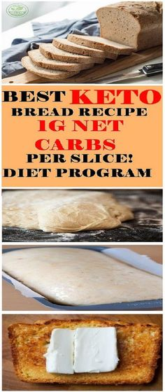 In this article, we've decided to present you the best recipe for keto bread! Many people have tried it and it's definitely the best you can find on the Keto Foods, Healthy Diet Recipes, Ketogenic Recipes, Ketogenic Diet, Low Carb Recipes, Bread Recipes, Cooking Recipes, Healthy Soup, Keto Meal