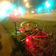 Yet another ride ending puncture. #cycling #singapore