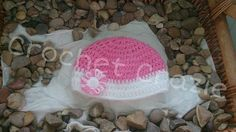 Girls Crochet flower Hat by crochetcraziehand on Etsy
