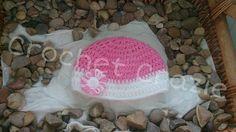 Girls Crochet flower Hat by crochetcraziehand on Etsy