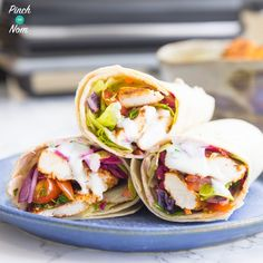 Like a chicken kebab? You will love this Slimming World Syn Free Chicken Shawarma. It's ridiculously quick & easy to make - the ultimate fakeaway. Slimming World Lunch Ideas, Slimming World Dinners, Slimming World Recipes Syn Free, Skinny Recipes, Healthy Recipes, Healthy Food, Healthy Eating, Free Recipes, Clean Eating Recipes