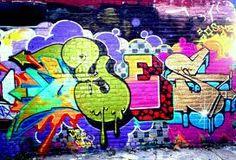 Richard - Graffitti is his thing!
