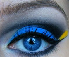 Dory Makeup! @Erica Gibson-Anthony!!