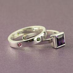 birthstone #rings #jewelry #Sorella