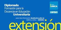 Censo para el Diplomado en Educación Univeristaria.