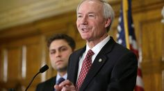 "When Arkansas Gov. Asa Hutchinson declined to sign his state's religious-freedom bill today, sending it back to the legislature for changes, he prompted some celebration from businesses and gay-rights activists.  The Republican governor cited his son as one of the reasons for his decision.  ""It has divided families, and there is clearly a generational gap on this issue,"" Hutchinson said. ""My son Seth signed the petition asking me, dad, the governor, to veto the bill."""