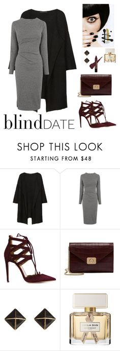 """""""Blind Date"""" by menoly ❤ liked on Polyvore featuring Karl Lagerfeld, Whistles, Aquazzura, Mulberry, Kate Spade and Givenchy"""