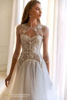 Elena Morar 2021 Fall Bridal Collection – The FashionBrides Cathedral Wedding Dress, Lace Wedding Dress, Wedding Dresses Plus Size, Perfect Wedding Dress, Bridal Dresses, Wedding Gowns, Wedding Outfits, Dress Lace, Dress Alterations