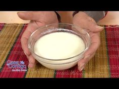 ▶ Como Hacer ButterMilk - YouTube Easy Smoothie Recipes, Easy Smoothies, Good Healthy Recipes, Snack Recipes, How To Make Bread, Food To Make, Coconut Smoothie, Homemade Cheese, Cinnamon Cream Cheese Frosting