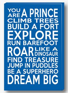 PRINCE Canvas will make a great addition to your little ones decor. Priced from only $49.95 and available in a range of colours and sizes, there is something to suit all.