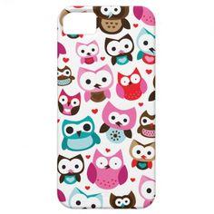 Cute retro owl pattern iphone case iPhone 5 case