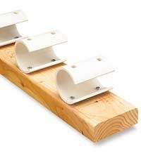 Pipe Clamp Rack Woodworking Plan
