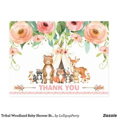 Woodland Flowers, Woodland Baby, Woodland Animals, Woodland Forest, Forest Animals, Lollipop Party, Virtual Flowers, Party Stores, Party Shop